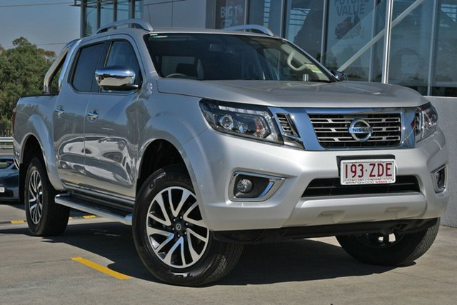 Demo Nissan Navara D23 S4 MY19 ST-X, 2019 Nissan Navara D23 S4 MY19 ST-X Brilliant Silver 7 Speed Sports Automatic Utility
