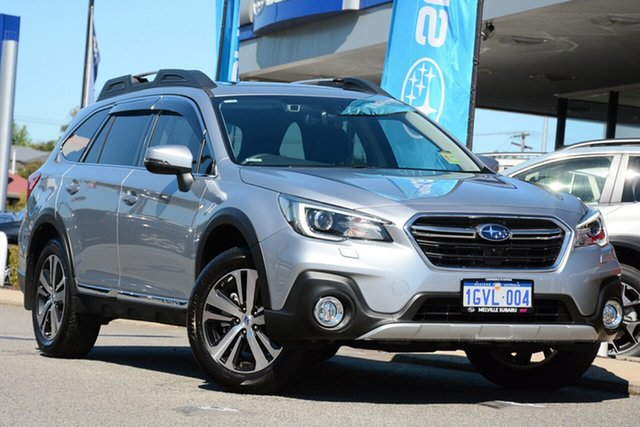 Demo Subaru Outback B6A MY19 3.6R CVT AWD, 2019 Subaru Outback B6A MY19 3.6R CVT AWD Ice Silver 6 Speed Constant Variable Wagon