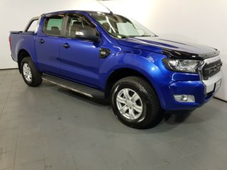2015 Ford Ranger PX MkII XLT Double Cab Blue 6 Speed Sports Automatic Utility