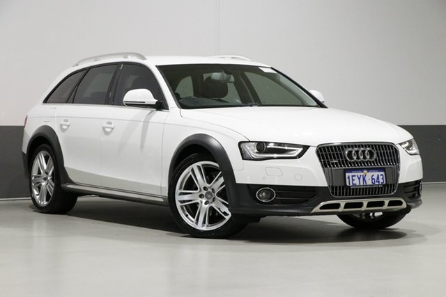 Used Audi A4 B8 (8K) MY15 Allroad Quattro LE, 2015 Audi A4 B8 (8K) MY15 Allroad Quattro LE White 7 Speed Auto Direct Shift Wagon