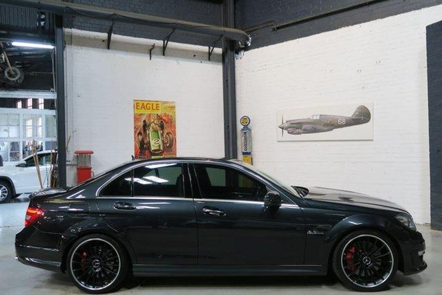 Used Mercedes-Benz C-Class W204 MY12 , 2012 Mercedes-Benz C-Class W204 MY12 Black 7 Speed Sports Automatic Sedan