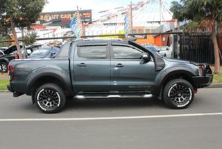 2013 Ford Ranger PX Wildtrak 3.2 (4x4) Grey 6 Speed Manual Crew Cab Utility