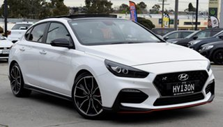 2019 Hyundai i30 PDe.3 MY20 N Fastback Performance Polar White 6 Speed Manual Coupe.