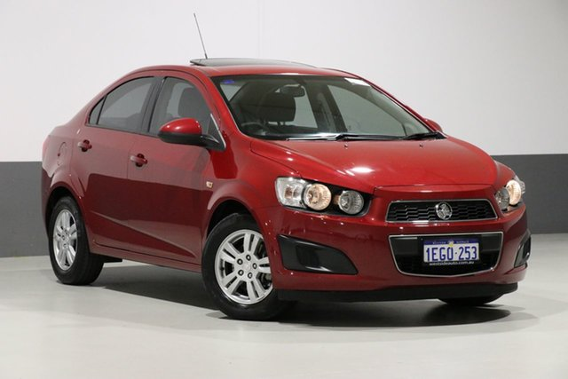 Used Holden Barina TM MY13 CD, 2013 Holden Barina TM MY13 CD Red 6 Speed Automatic Sedan