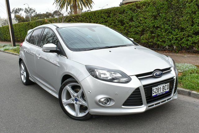 Used Ford Focus LW MkII Titanium PwrShift, 2014 Ford Focus LW MkII Titanium PwrShift Silver 6 Speed Sports Automatic Dual Clutch Hatchback