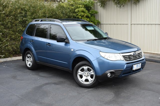 Used Subaru Forester S3 MY09 XT AWD, 2009 Subaru Forester S3 MY09 XT AWD Blue 4 Speed Sports Automatic Wagon
