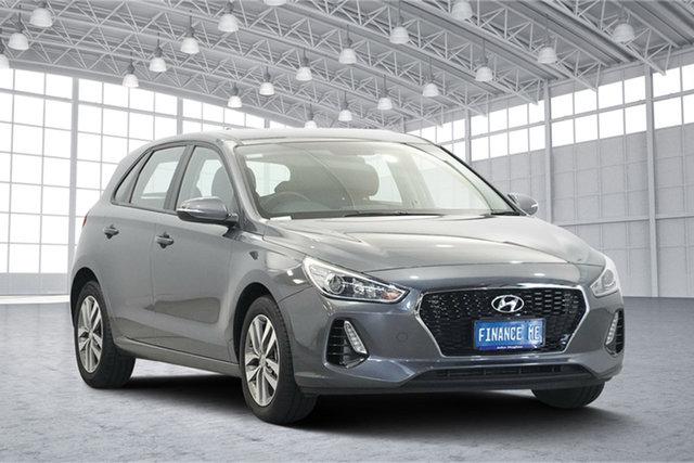 Used Hyundai i30 PD MY18 Active, 2017 Hyundai i30 PD MY18 Active Grey 6 Speed Sports Automatic Hatchback
