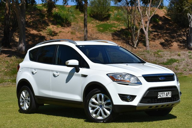 Used Ford Kuga TE Trend AWD, 2012 Ford Kuga TE Trend AWD White 5 Speed Sports Automatic Wagon