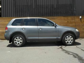 2004 Volkswagen Touareg 7L Luxury 4XMotion Grey 6 Speed Sports Automatic Wagon.