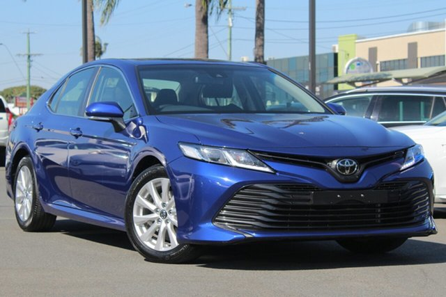 Used Toyota Camry ASV70R Ascent, 2018 Toyota Camry ASV70R Ascent Dark Blue Mica/grey 6 Speed Sports Automatic Sedan