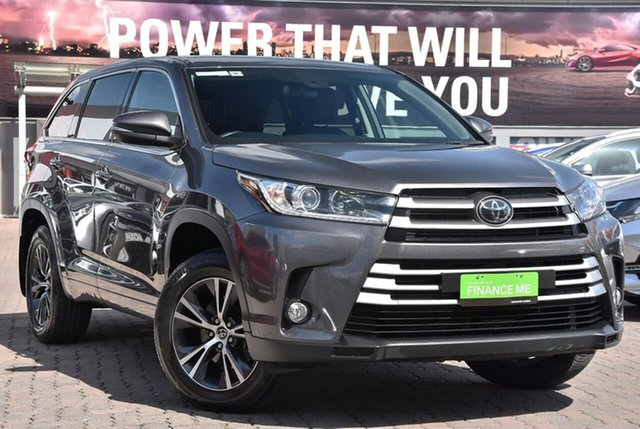 Used Toyota Kluger GSU55R GX AWD, 2018 Toyota Kluger GSU55R GX AWD Predawn Grey 8 Speed Sports Automatic Wagon