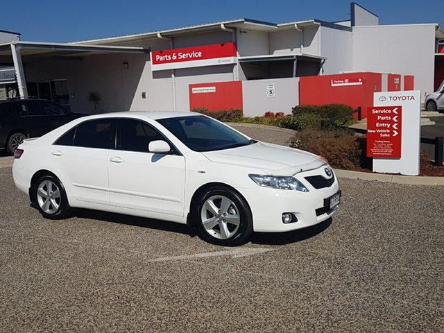 Used Toyota Camry ACV40R 09 Upgrade Touring SE, 2010 Toyota Camry ACV40R 09 Upgrade Touring SE Diamond White 5 Speed Automatic Sedan