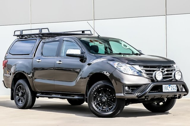 Used Mazda BT-50 UR0YG1 GT, 2018 Mazda BT-50 UR0YG1 GT Titanium Flash Mica 6 Speed Sports Automatic Utility