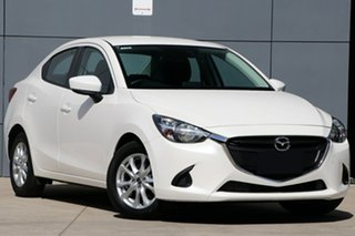 2018 Mazda 2 DL2SAA Maxx SKYACTIV-Drive Snowflake White 6 Speed Sports Automatic Sedan.