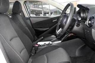 2018 Mazda 2 DL2SAA Maxx SKYACTIV-Drive Snowflake White 6 Speed Sports Automatic Sedan
