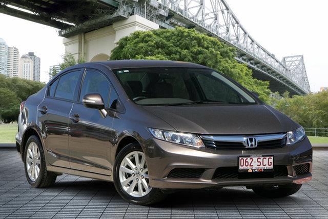 Used Honda Civic 9th Gen VTi-L, 2012 Honda Civic 9th Gen VTi-L Gold 5 Speed Sports Automatic Sedan