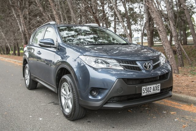 Used Toyota RAV4 ZSA42R GX 2WD, 2013 Toyota RAV4 ZSA42R GX 2WD Blue 6 Speed Manual Wagon