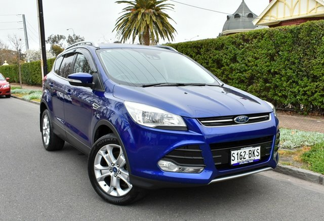 Used Ford Kuga TF MY15 Trend AWD, 2015 Ford Kuga TF MY15 Trend AWD Deep Impact Blue 6 Speed Sports Automatic Wagon
