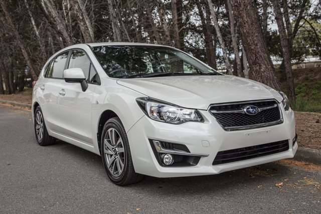 Used Subaru Impreza G4 MY16 2.0i AWD Premium, 2016 Subaru Impreza G4 MY16 2.0i AWD Premium White 6 Speed Manual Sedan