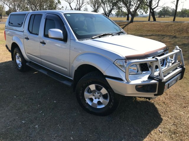 Used Nissan Navara D40 RX Silverline SE (4x4), 2014 Nissan Navara D40 RX Silverline SE (4x4) Silver 6 Speed Manual Dual Cab Pick-up