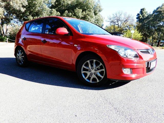 Used Hyundai i30 FD MY11 Trophy, 2012 Hyundai i30 FD MY11 Trophy Red/Black 4 Speed Automatic Hatchback