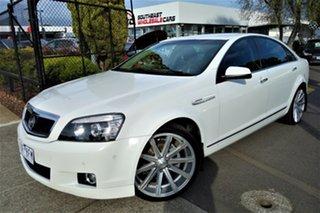 2013 Holden Caprice WN MY14 White 6 Speed Sports Automatic Sedan.