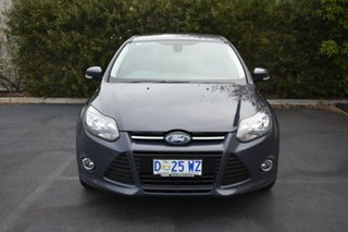 2014 Ford Focus LW MkII MY14 Sport Blue 5 Speed Manual Hatchback.