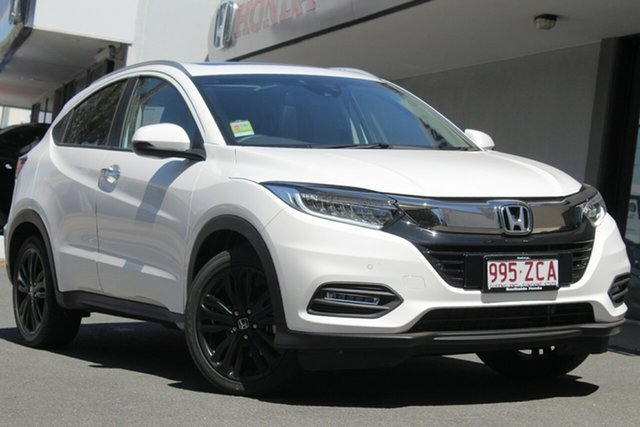 Demo Honda HR-V MY20 VTi-LX, 2019 Honda HR-V MY20 VTi-LX Taffeta White 1 Speed Constant Variable Hatchback