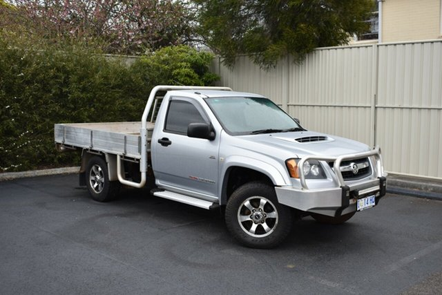 Used Holden Colorado RC MY10 LT-R Crew Cab, 2010 Holden Colorado RC MY10 LT-R Crew Cab Sterling Silver 5 Speed Manual Utility