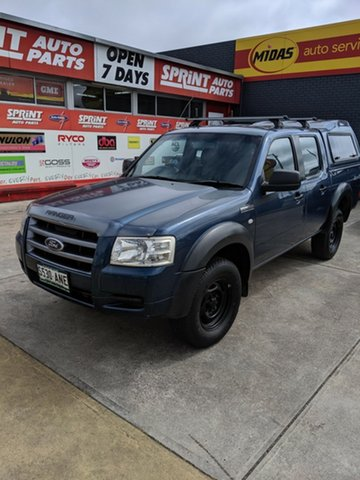 Used Ford Ranger PJ XLT Crew Cab, 2007 Ford Ranger PJ XLT Crew Cab Blue 5 Speed Manual Utility