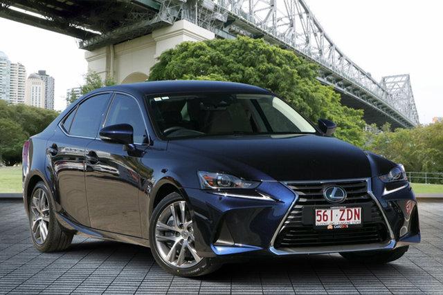 Used Lexus IS 200t ASE30R Luxury, 2016 Lexus IS 200t ASE30R Luxury Blue 8 Speed Sports Automatic Sedan