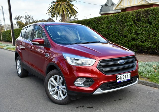 Used Ford Escape ZG 2019.25MY Ambiente 2WD, 2018 Ford Escape ZG 2019.25MY Ambiente 2WD Ruby Red/charcoal Gr 6 Speed Sports Automatic Wagon