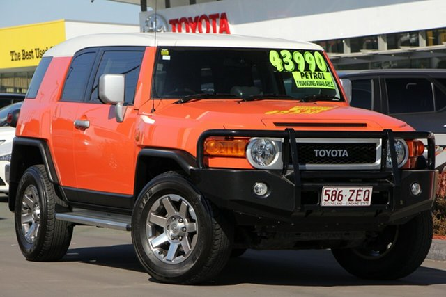 Used Toyota FJ Cruiser GSJ15R MY14 , 2014 Toyota FJ Cruiser GSJ15R MY14 Orange Clay 5 Speed Automatic Wagon