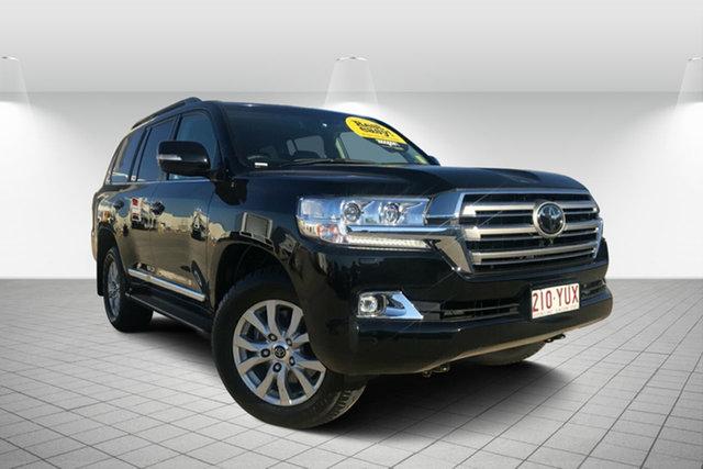 Used Toyota Landcruiser VDJ200R Sahara, 2016 Toyota Landcruiser VDJ200R Sahara Black 6 Speed Sports Automatic Wagon