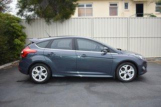 2014 Ford Focus LW MkII MY14 Sport Blue 5 Speed Manual Hatchback.