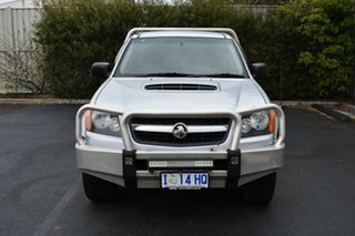 2010 Holden Colorado RC MY10 LT-R Crew Cab Sterling Silver 5 Speed Manual Utility.