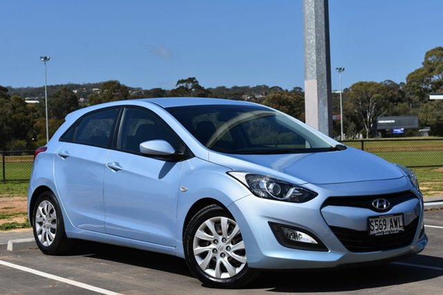 Used Hyundai i30 GD Active, 2013 Hyundai i30 GD Active Blue 6 Speed Sports Automatic Hatchback