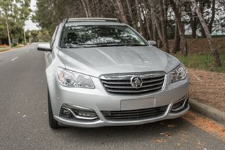 2014 Holden Calais VF MY14 Sportwagon Silver 6 Speed Sports Automatic Wagon.