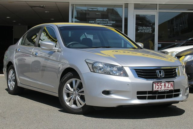Used Honda Accord 8th Gen VTi, 2008 Honda Accord 8th Gen VTi Silver 5 Speed Sports Automatic Sedan