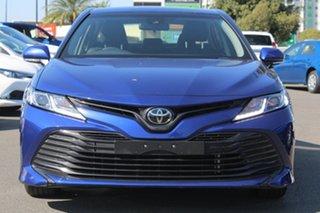 2018 Toyota Camry ASV70R Ascent Dark Blue Mica 6 Speed Sports Automatic Sedan.