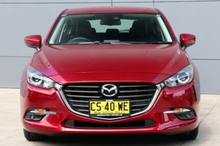 2018 Mazda 3 BN5478 Touring SKYACTIV-Drive Soul Red 6 Speed Sports Automatic Hatchback