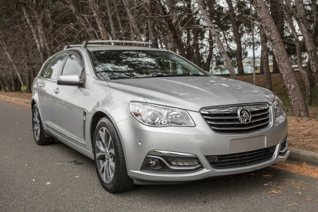 Used Holden Calais VF MY14 Sportwagon, 2014 Holden Calais VF MY14 Sportwagon Silver 6 Speed Sports Automatic Wagon