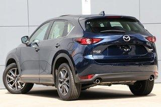 2018 Mazda CX-5 KF4W2A GT SKYACTIV-Drive i-ACTIV AWD Deep Crystal Blue 6 Speed Sports Automatic.