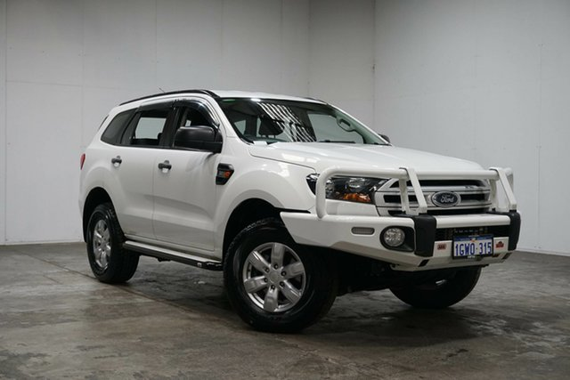 Used Ford Everest UA Ambiente 4WD, 2015 Ford Everest UA Ambiente 4WD White 6 Speed Sports Automatic Wagon