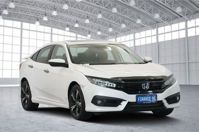 Used Honda Civic 10th Gen MY16 RS, 2017 Honda Civic 10th Gen MY16 RS White 1 Speed Constant Variable Sedan
