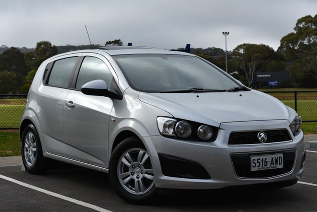Used Holden Barina TM , 2012 Holden Barina TM Silver 6 Speed Automatic Hatchback