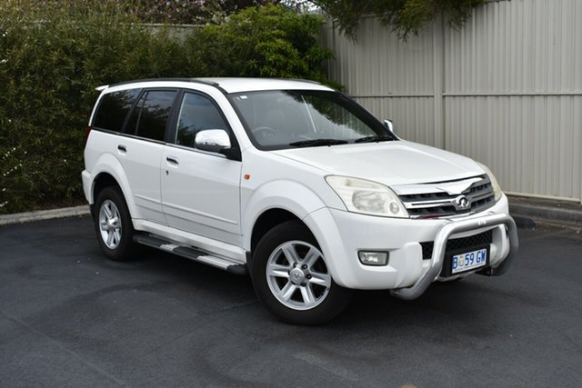 Used Great Wall X240 CC6460KY , 2010 Great Wall X240 CC6460KY White 5 Speed Manual Wagon