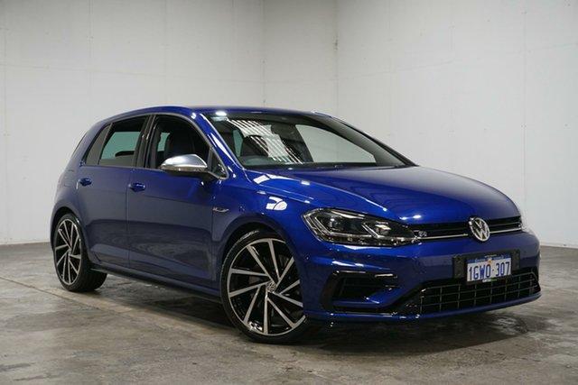 Used Volkswagen Golf 7.5 MY17 R DSG 4MOTION, 2017 Volkswagen Golf 7.5 MY17 R DSG 4MOTION Blue 7 Speed Sports Automatic Dual Clutch Hatchback