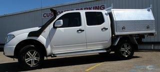 2015 Nissan Navara D40 S8 RX White 5 Speed Automatic Utility.