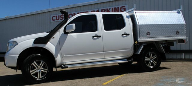 Used Nissan Navara D40 S8 RX, 2015 Nissan Navara D40 S8 RX White 5 Speed Automatic Utility